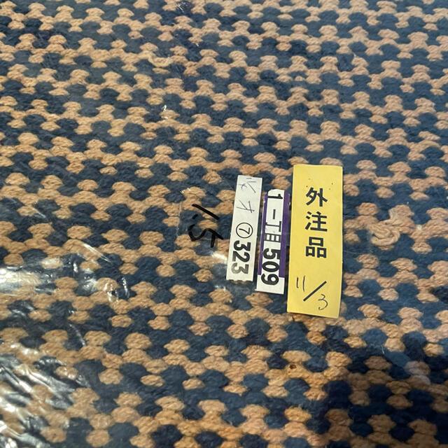 unico(ウニコ)の★引越しSALE★unico インド綿ラグ  インテリア/住まい/日用品のラグ/カーペット/マット(ラグ)の商品写真