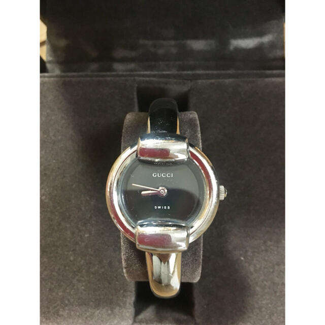 Gucci(グッチ)の美品 GUCCI レディース 時計 ウォッチ 1400L レディースのファッション小物(腕時計)の商品写真
