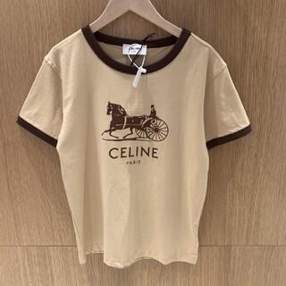celine - 🌟大人気品🌟CELINEセリーヌ Tシャツ 半袖 レディース M