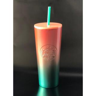 Starbucks Coffee - 海外スターバックス★完売★ステンレスタンブラー★ombré★ウォーターメロン