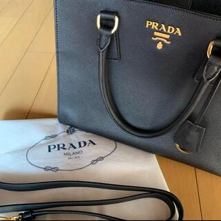 PRADA - 美品 PRADA プラダ サフィアーノ バッグ