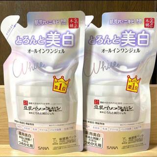 ノエビア(noevir)のなめらか本舗 豆乳イソフラボン 薬用美白 オールインワン 詰替え用 100g×2(オールインワン化粧品)
