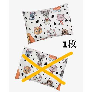 ディズニー(Disney)のディズニー犬猫キャラクター ピローケース 枕カバー 1枚(シーツ/カバー)