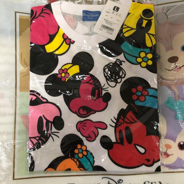 Disney(ディズニー)のディズニー Tシャツ L エンタメ/ホビーのおもちゃ/ぬいぐるみ(キャラクターグッズ)の商品写真