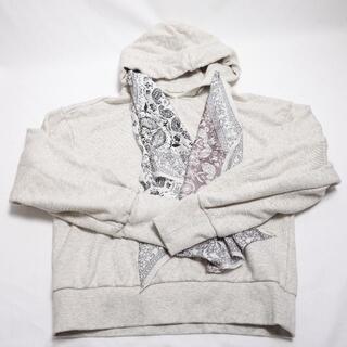 Ameri VINTAGE - ameri vintage scarfegg hoodie レディース ベージュ