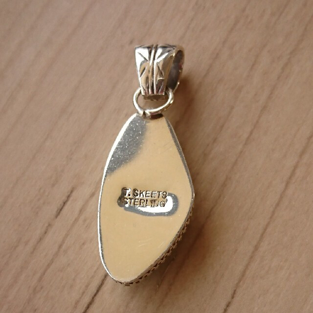 ターコイズペンダントトップ インディアンジュエリー レディースのアクセサリー(ネックレス)の商品写真