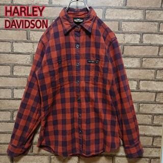 ハーレーダビッドソン(Harley Davidson)のHARLEY-DAVIDSON ハーレーダビットソン メキシコ製 メンズ シャツ(シャツ)