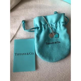 Tiffany & Co. - Tiffany ダブルハート ブルー