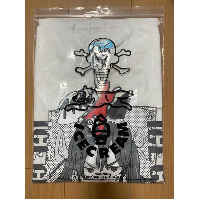 Supreme(シュプリーム)のICECREAM×JUN INAGAWA ロンT Sサイズ メンズのトップス(Tシャツ/カットソー(七分/長袖))の商品写真