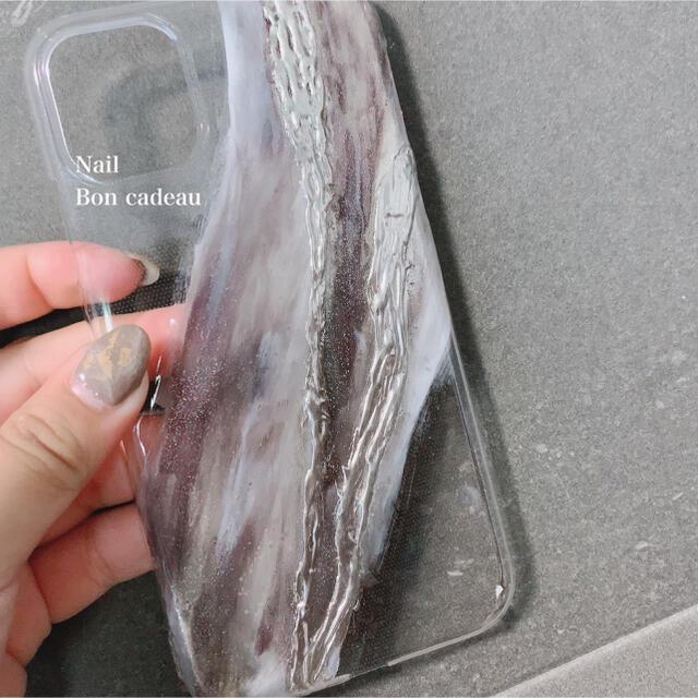 ニュアンスケース・iPhoneケース・iPhoneカバー スマホ/家電/カメラのスマホアクセサリー(iPhoneケース)の商品写真