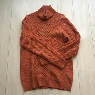 Discoat  タートルネック セーター