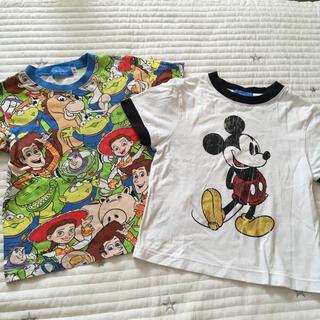 ディズニー(Disney)の110 ディズニーランド ミッキー トイストーリー Tシャツ(Tシャツ/カットソー)