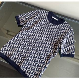 Dior - DIOR ロゴ  セーター  半袖 s