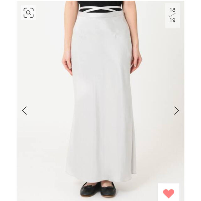 Charles Chaton リボンシェルスカート レディースのスカート(ロングスカート)の商品写真