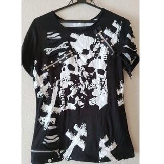 エーシーディーシーラグ(ACDC RAG)のACDC RAG パンク ロック ゴシック 原宿 Tシャツ 半袖(Tシャツ(半袖/袖なし))