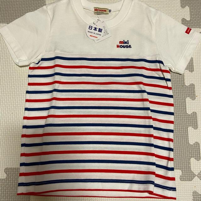 mikihouse(ミキハウス)のミキハウス tシャツ 新品未使用 キッズ/ベビー/マタニティのキッズ服男の子用(90cm~)(Tシャツ/カットソー)の商品写真