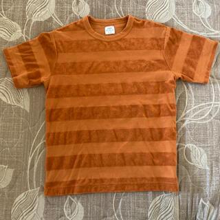 コーエン(coen)のcoen 半袖Tシャツ Lサイズ 橙色(Tシャツ/カットソー(半袖/袖なし))
