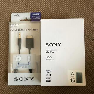 ソニー(SONY)の520 ソニー ウォークマン Aシリーズ 16GB NW-A55 (ポータブルプレーヤー)
