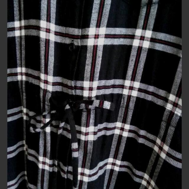 UNIQLO(ユニクロ)のUNIQLO Mサイズ シャツワンピース ロング丈 レディースのワンピース(ロングワンピース/マキシワンピース)の商品写真