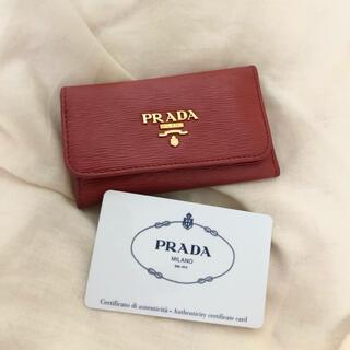PRADA - 【4月限定大幅値下げ!】プラダ キーケース