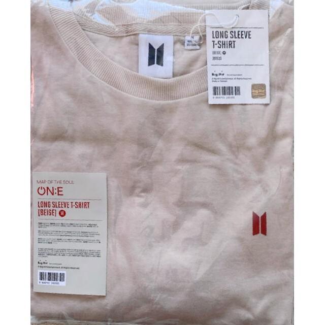 防弾少年団(BTS)(ボウダンショウネンダン)のBTS ON:E ロンT ロングスリーブTシャツ エンタメ/ホビーのタレントグッズ(アイドルグッズ)の商品写真