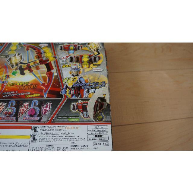 BANDAI(バンダイ)の仮面ライダー ガイム  DXソニックアロー&レモンエナジーロックシード 中古 エンタメ/ホビーのおもちゃ/ぬいぐるみ(キャラクターグッズ)の商品写真
