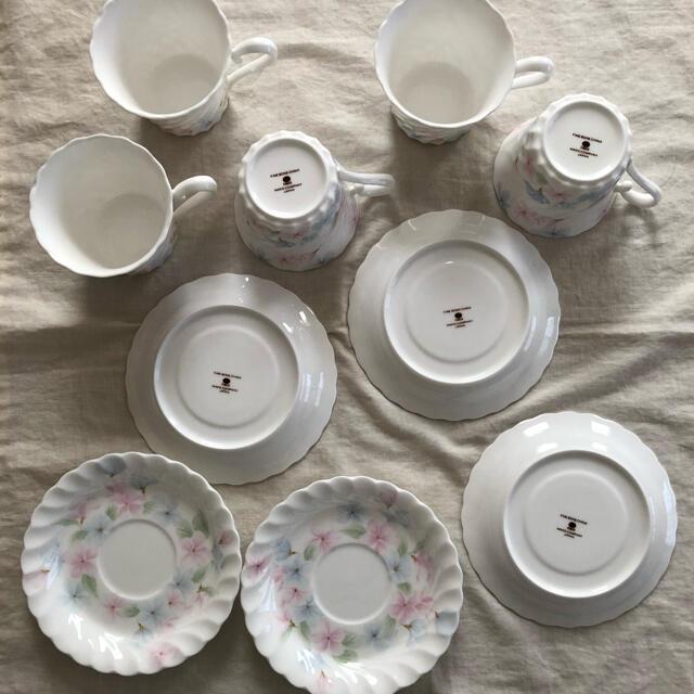 NIKKO(ニッコー)のNIKKO コーヒーカップ 5客セット インテリア/住まい/日用品のキッチン/食器(グラス/カップ)の商品写真