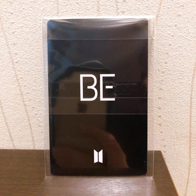 防弾少年団(BTS)(ボウダンショウネンダン)のBTS BE ラッキードロー トレカ ジョングク エンタメ/ホビーのCD(K-POP/アジア)の商品写真