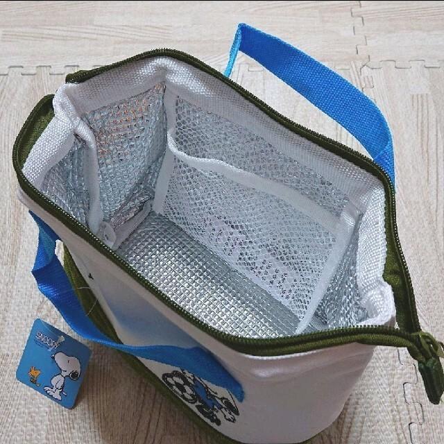 PEANUTS(ピーナッツ)のスヌーピー 保冷バッグ カバン トート PEANUTS SNOOPY 新品 エンタメ/ホビーのおもちゃ/ぬいぐるみ(キャラクターグッズ)の商品写真