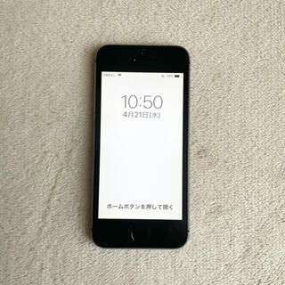 iPhone - iPhone5s 32GB スペースグレー docomo