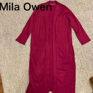 Mila Owen - Mila Owen ミラオーウェン  ロングカーディガン