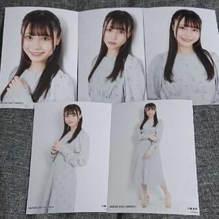 エヌジーティーフォーティーエイト(NGT48)の川越紗彩 個別生写真 2021.3 vol.2(アイドルグッズ)