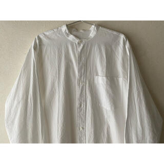 COMOLI - 美品  COMOLI  バンドカラー シャツ 20SS  サイズ2