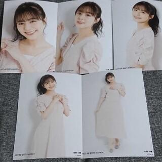 エヌジーティーフォーティーエイト(NGT48)の本間日陽 個別生写真 2021.3 vol.2(アイドルグッズ)