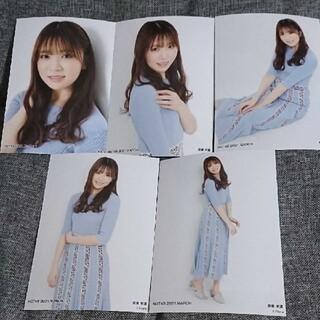 エヌジーティーフォーティーエイト(NGT48)の奈良未遥 個別生写真 2021.3 vol.2(アイドルグッズ)