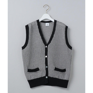 BEAUTY&YOUTH UNITED ARROWS - <6(ROKU)>COTTON STRIPE VEST/ベスト 新品タグ付き