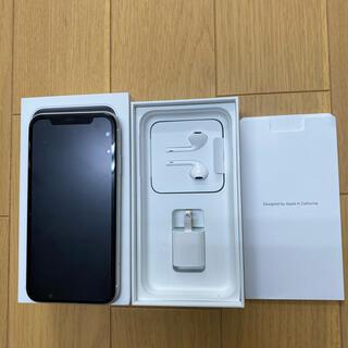 iPhone - 美品 iPhone XR 64GB White 白 ホワイト MT032J/A