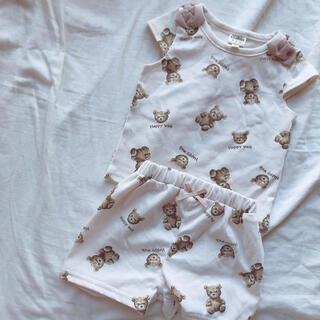 バースデイ くま 子供服 新品 80cm(Tシャツ)