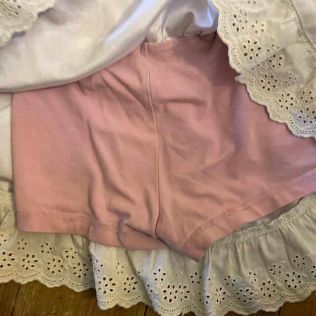 EARTHMAGIC(アースマジック)のアースマジック earthmagic スカパン 100 キッズ/ベビー/マタニティのキッズ服女の子用(90cm~)(スカート)の商品写真