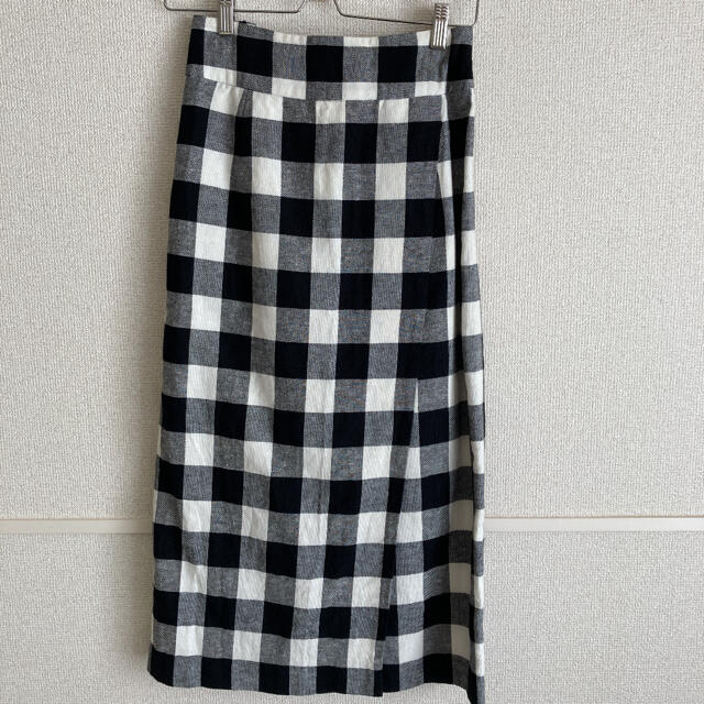 JOURNAL STANDARD(ジャーナルスタンダード)のJOURNAL STANDARD relume ギンガムチェック ラップスカート レディースのスカート(ロングスカート)の商品写真
