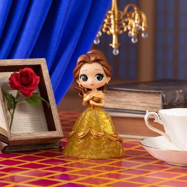 BANDAI(バンダイ)のディズニー Qposket Belle  ベル フィギュア 美女と野獣 新品 エンタメ/ホビーのおもちゃ/ぬいぐるみ(キャラクターグッズ)の商品写真
