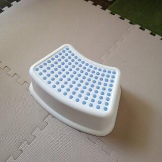 イケア(IKEA)のイケア 踏み台 ブルー(その他)