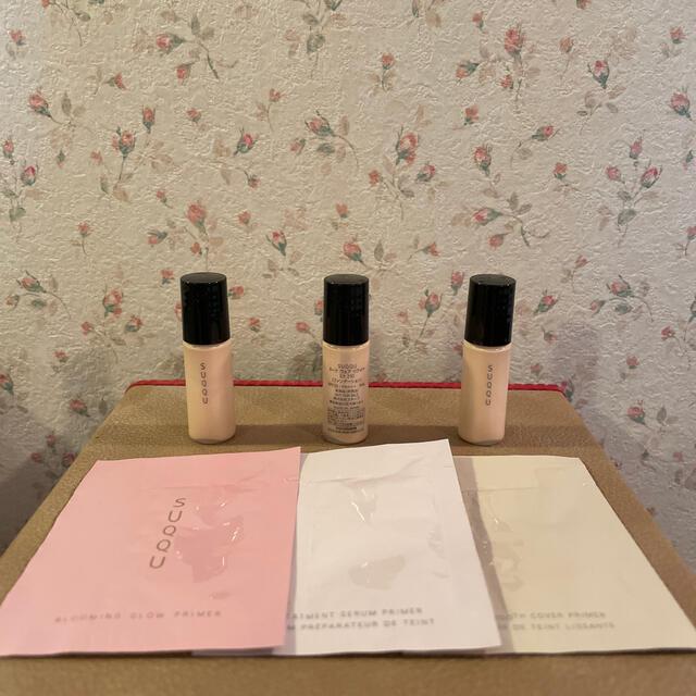 SUQQU(スック)のSUQQU ヌードウェアリクイド EX ファンデーション&化粧下地 ミニセット コスメ/美容のベースメイク/化粧品(ファンデーション)の商品写真