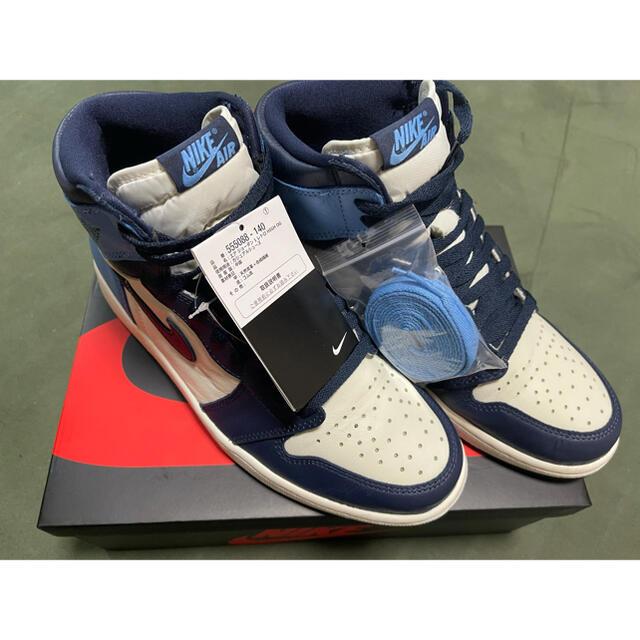 NIKE(ナイキ)のナイキ エアジョーダン1  メンズの靴/シューズ(スニーカー)の商品写真
