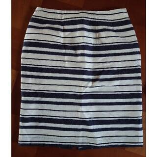 クードシャンス(COUP DE CHANCE)のストライプスカート  サイズ36(ミニスカート)