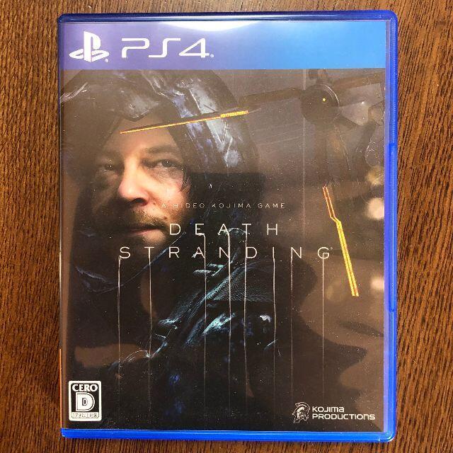 PlayStation4(プレイステーション4)の【PS4】DEATH STRANDING エンタメ/ホビーのゲームソフト/ゲーム機本体(家庭用ゲームソフト)の商品写真