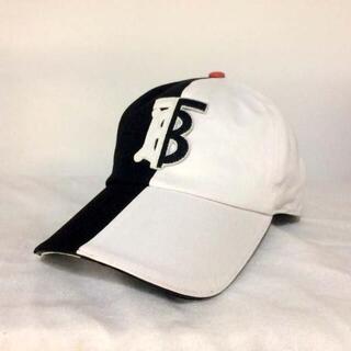 BURBERRY - Burberry ツートーン バイカラー ベースボールキャップ