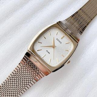 アルバ(ALBA)のALBA  ESTATE アルバ エステート メンズクォーツ腕時計 稼動品(腕時計(アナログ))