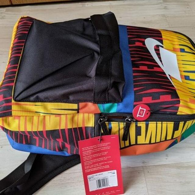 NIKE(ナイキ)の新品 NIKE ヘリテージバックパック マルチカラー BAS-5880-016 メンズのバッグ(バッグパック/リュック)の商品写真
