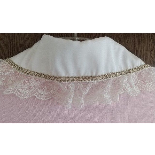 Angelic Pretty(アンジェリックプリティー)のAngelic Pretty 丸襟レース付き長袖カットソー レディースのトップス(カットソー(長袖/七分))の商品写真